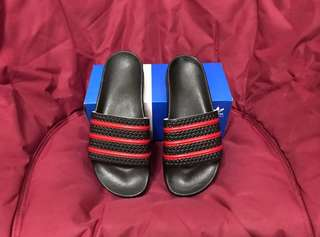 Sendal Adidas Adilette AC MILAN #mausupreme