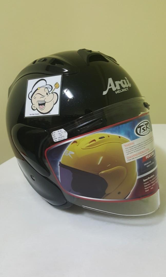 4e411d67 0406***TSR RAM4 Convert ARAI Helmet For Sale 😁😁Thanks To All My ...