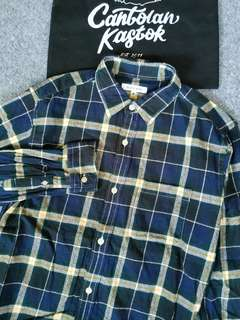 global work flannel shirt