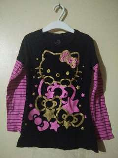 Hello Kitty long sleeves for 2 to 3yrs.old