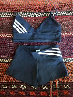 Faux Adidas Running Outfit