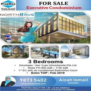 3 Bedrooms @ Northwave EC