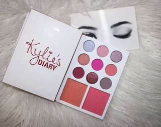Raya Clearance Sale! $12 Mailed! Kylie eyeshadow + blusher Valentines edition