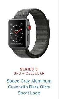 Last change: Apple Watch series 3 gps cellular 42mm