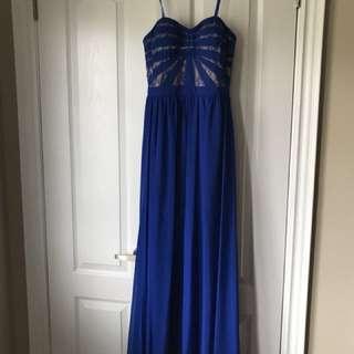 Royal Blue Aidan Mattox Dress