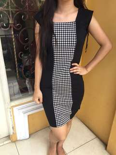 Houndstooth Dress The Executive