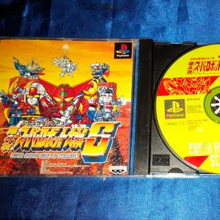 SUPER ROBOT WAR-4 PS GAME DVD(JAPAN VERSION)
