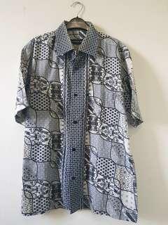 Batik kemeja like new bahan katun