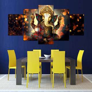 Canvas Art - Ganesha