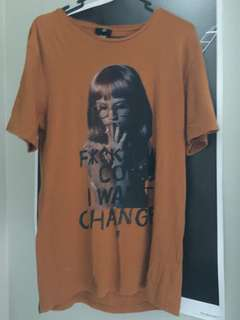 """""""F**k your coins, I want change"""" shirt"""