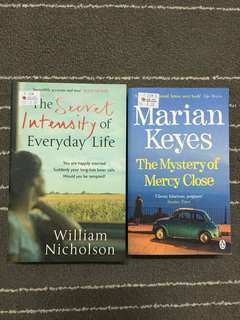 The secret intensity by and the mysterious of mercy closes by marian keyes
