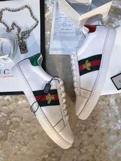 Sepatu Gucci Pria Sneakers Bee Mirror Quality