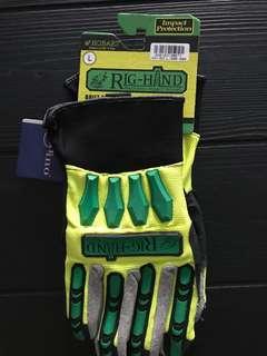 Rig hand Mechanic impact glove