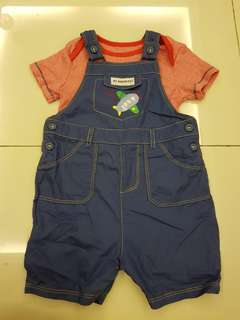 Mothercare Baby Overall set of 2