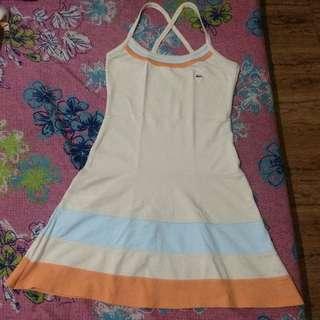 Authentic Lacoste X Strap Dress
