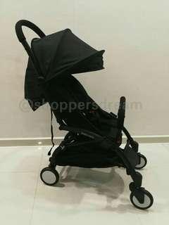 Free delivery - Instock Black Cabin Size Stroller