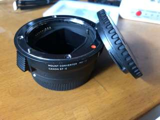SIGMA MOUNT CONVERTER MC-11 99% new