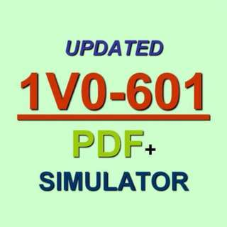 VMware Certified Associate 6 Data Center VCA6 1V0-601 Test Exam QA PDF+Simulator