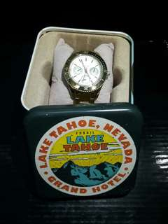 AUTHENTIC FOSSIL GOLD COLOR WOMEN WATCHES