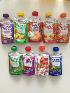 Happy Baby food pouches