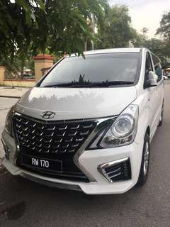 Hyundai Starex for rental or chauffer