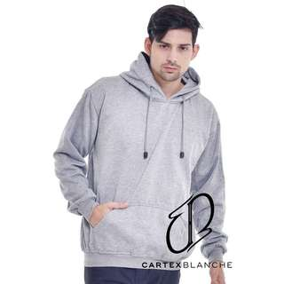 Jaket Sweater Jumper Polos Light Grey