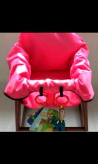 MNB High Chair Cover (x2 Pink)