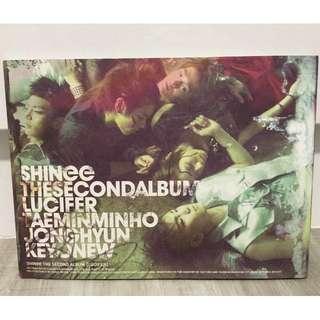 SHINee the Second Album Lucifer
