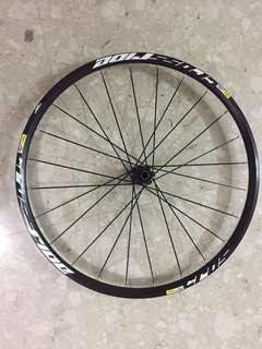 front wheel mavic crossride (27.5) with rim tape (tubless ready)