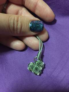 Swarovski crystal handmade charm
