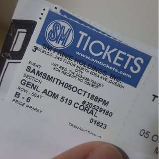 SAM SMITH CONCERT IN MANILA