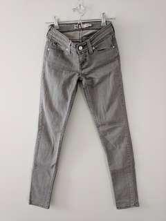 Levi's gray skinny jeans