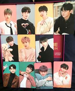 Wanna One Official Premier Fancon Mini Poster and Photocard