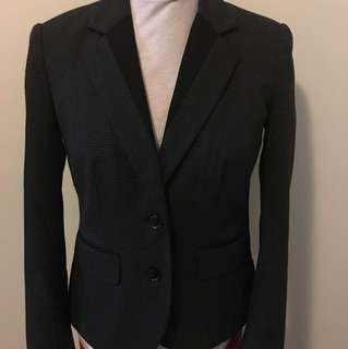 Mexx blazer black grey size medium - CA34