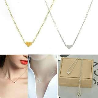 Romantic Luxury Heart Shape Pendant Necklace