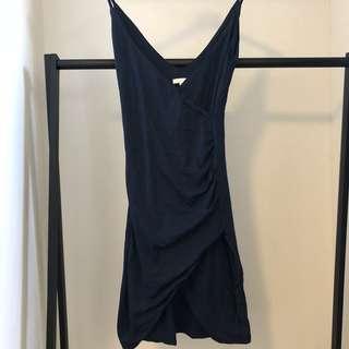 Kookaï Navy Midi Dress