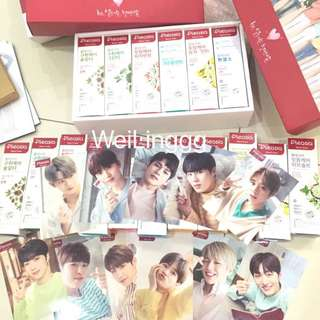 WannaOne Pleasia Selfie Card With Toothpastes