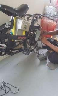 Repairing Any Service For E-Bike.
