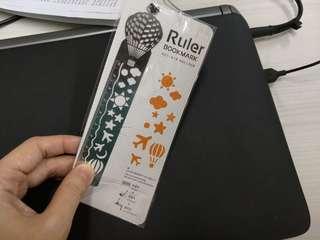 Bn Metal Bookmark cum Ruler (rtp $1.90)