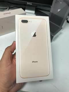 Iphone 8+ 256GB (Gold,Black,Silver)