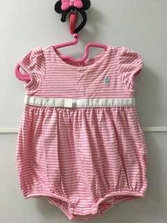 Polo Ralph Lauren 6M baby girl 夾衣 (夏)