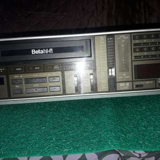 For Home Display only-VINTAGE SANYO BETAMAX