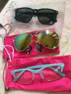 Preloved eyeglasses/sunglasses