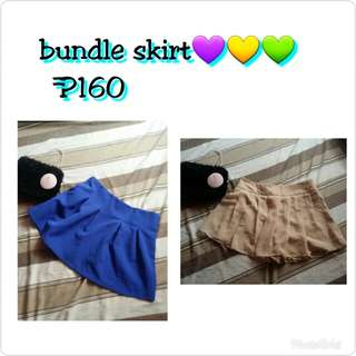 Bundle skirt