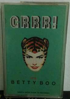 Kaset Pita : Its Betty Boo - Grrr!