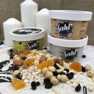 Sahl Oats in Tubs