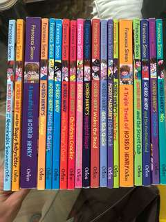 Horrid Henry in a set of 19 books. Good condition.