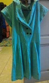 Turqoise dress