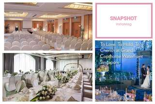 Wedding Banquet / Events for sale at Grand Copthorne Waterfront Singapore