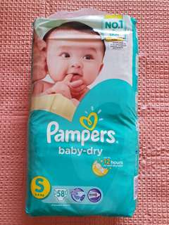 Pampers Baby Dry Size S